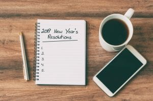 2019 New Year's Resolutions Laws